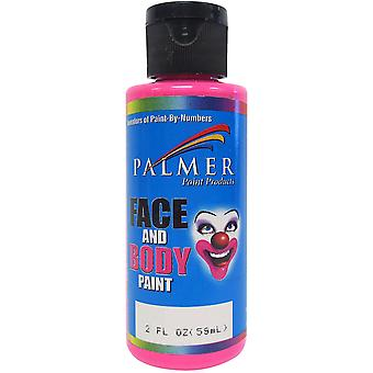 Face & Body Paint 2oz-Pink 5600036-6