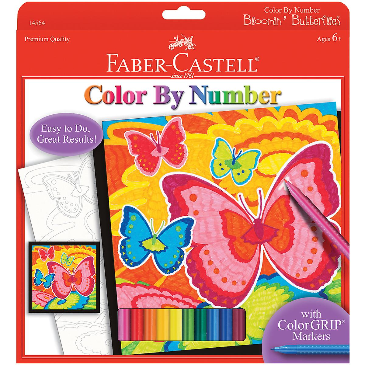 Color By Number Kit Bloomin' Butterflies 145 64