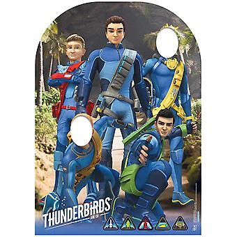 Thunderbirds är gå barn storlek Stand-in Lifesize kartong släppandet / stående / Standup
