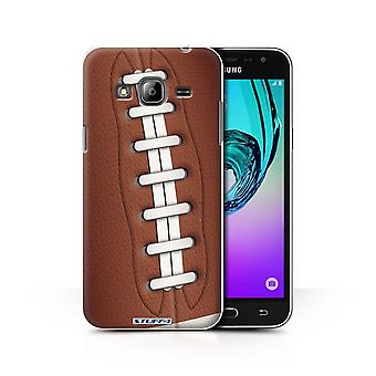STUFF4 Case/Cover for Samsung Galaxy J3/American Football/Sports Balls