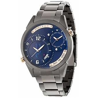 Polizei-Mens Gun Gurt blaues Zifferblatt 14540JSU / 03M Watch