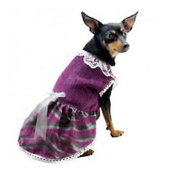 Yagu costume Fallera Lila (dogs, clothing, dresses)