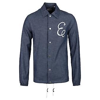 Edwin Blue Chambray Coach Jacket