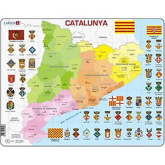 Larsen Puzzle Great Catalunya Policy (Toys , Boardgames , Puzzles)