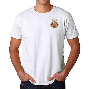 The Royal Horse Guards Embroidered Logo - Official British Army Ringspun T Shirt
