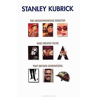 Stanley Kubrick - Promotion Movie Poster (11 x 17)