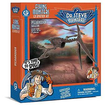 Geoworld Flying Monsters excav. Kit - Pteranodon
