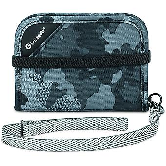 Pacsafe RFIDsafe V50 Anti-theft RFID Blocking Compact Wallet (Grey/Camo)