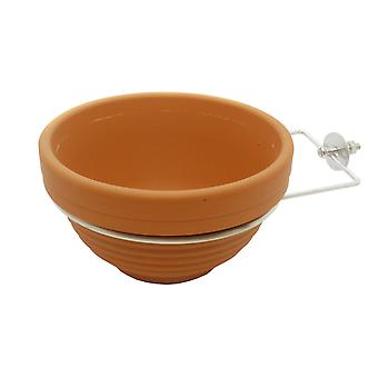 Quiko Terracotta Nest Pan Including Ring Hook (Pack of 12)