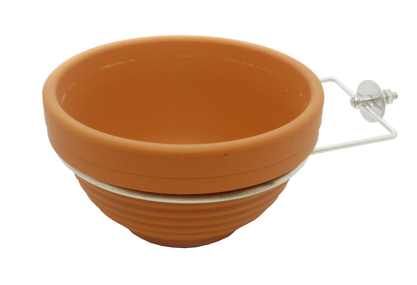 Quiko Terracotta Nest Pan Including Ring Hook (Pack of 12)