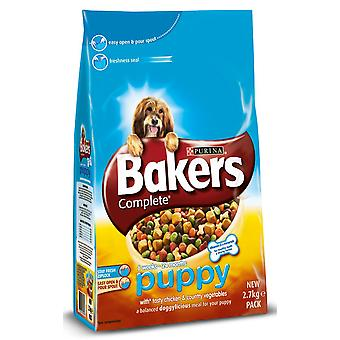 Bakers Complete Puppy / Junior Chicken 2.7kg (Pack of 4)