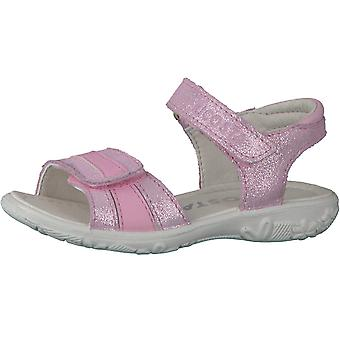 Ricosta Girls Marie Sandals Blush Pink