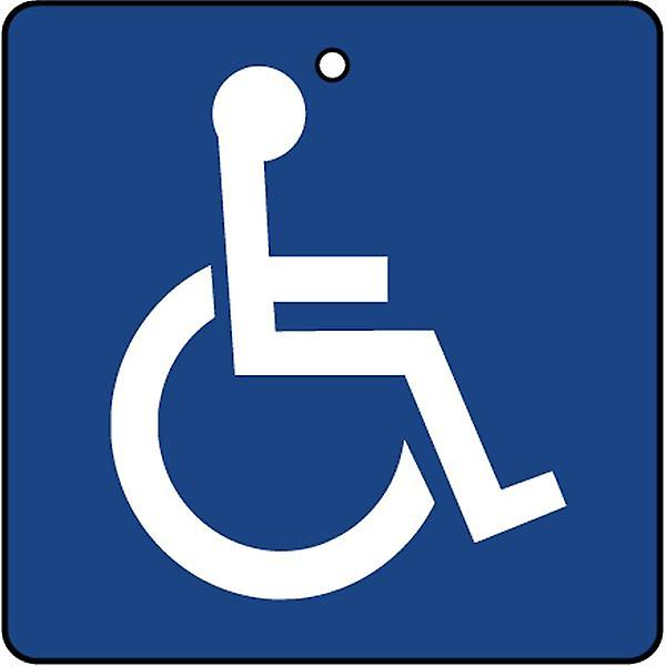 Disabled Blue Badge Car Air Freshener