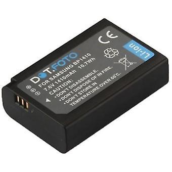 Dot.Foto Samsung BP1410, ED-BP1410 batterie de rechange - 7.6v / 1410mAh