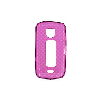 OEM Verizon High Gloss Silicone Case for Samsung Droid Charge i510 (Purple)
