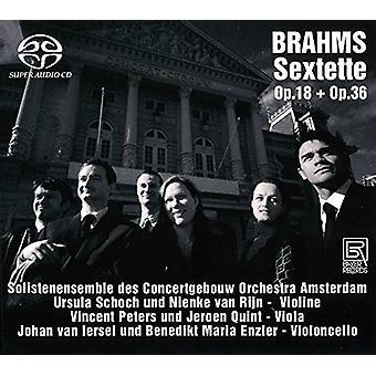 Brahms / Solistenensemble Des Concertgebouw Orch - sekstetter [SACD] USA import