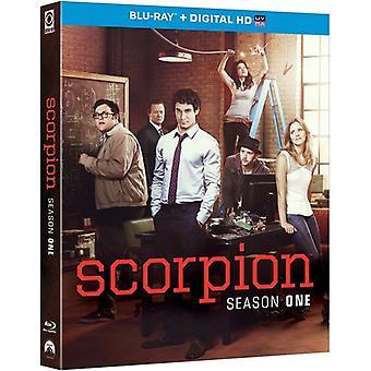 Scorpion: Season One [Blu-ray] USA import