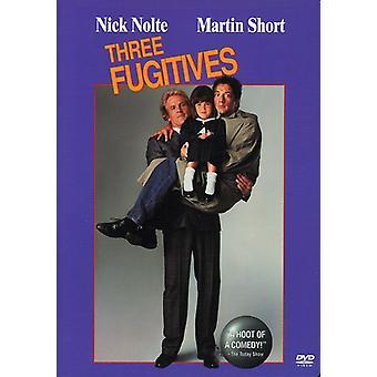 Three Fugitives [DVD] USA import