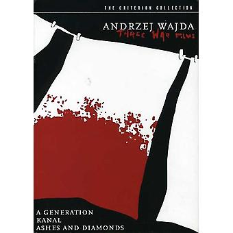 Andrzej Wajda - drei Krieg [DVD] USA import