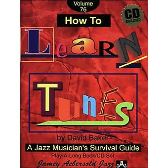 David Baker - How to Learn Tunes [CD] USA import