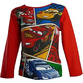 Boys Disney Cars HO1564 Lightning McQueen Long Sleeve Top