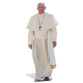 Paus Francis Life-sized kartonnen uitsnede