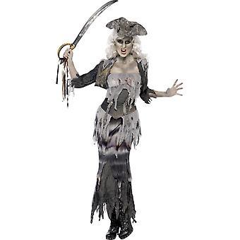 Ghost ship Pirate Costume women's Ghost ship costume Halloween