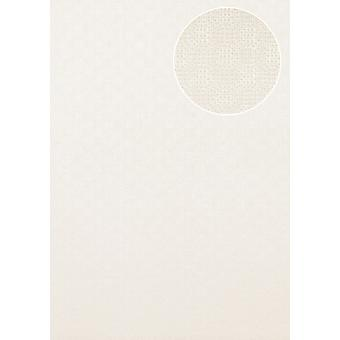 Luxury tree wallpaper Atlas COL-543-1 non-woven wallpaper luxury structured uni colours shimmering white perl 5.33 m2