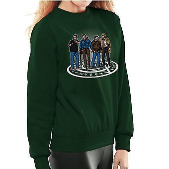 The Hunting Party Ash Vs Evil Dead Supernatural Mashup Women's Sweatshirt
