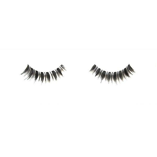W.A.T Light Curvy Black  Human Hair False  Eyelashes Eyelashes