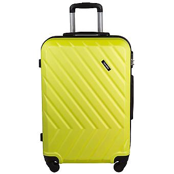 Travelite quick 4 wheels ABS hard shell trolley 4 wheel suitcase M 64 cm