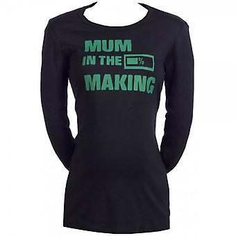 Spoilt Rotten Mum In The Making Logo Maternity Top