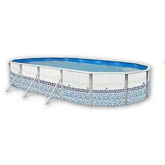 Toi Oval mosaic pool (Garden , Swimming pools , Swimming pools)