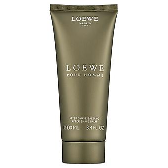 Loewe Pour Homme After Shave Balsamo 100 ml (Beauty , Men , Shaved off , Aftershave)