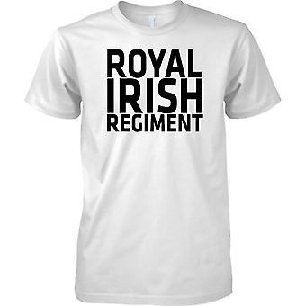 Licensed MOD -  British Army Royal Irish Regiment - Text - Kids T Shirt