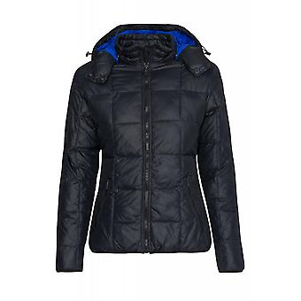 Lee buffer jacket jacket ladies black hooded winter jacket