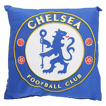 Chelsea FC Childrens/Kids Official Filled Football Crest Cushion