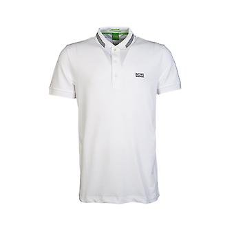 BOSS grønne HUGO BOSS Polo T skjorte Slim Fit PAULE 50292195