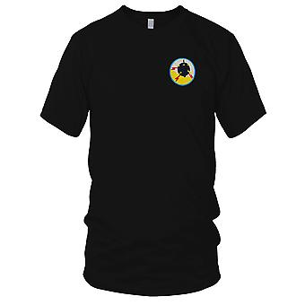 USN Navy Minesweepers - Military Insignia Vietnam War Embroidered Patch - Mens T Shirt
