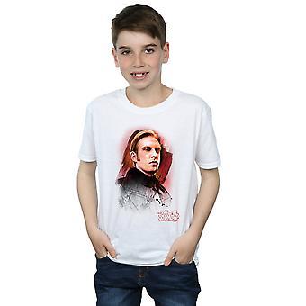 Star Wars jongens de laatste Jedi generaal Hux geborsteld T-Shirt