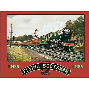 Flying Scotsman Metal Wall Sign