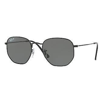 Ray - Ban Hexagonal Flat Medium polarized Black G-15
