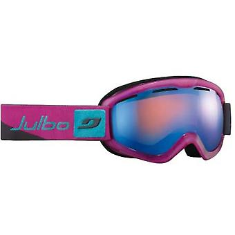 Julbo Vega DLX Goggles (Orange Blue WEEKEND Lens Grey / Pink / Blue Frame)