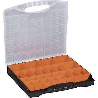 Assortment case (L x W x H) 400 x 370 x 58 mm Alutec No. of compartments: 24 variable compartments