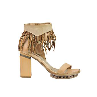 A.S. 98 women's MCGLCAT03161E beige leather sandals
