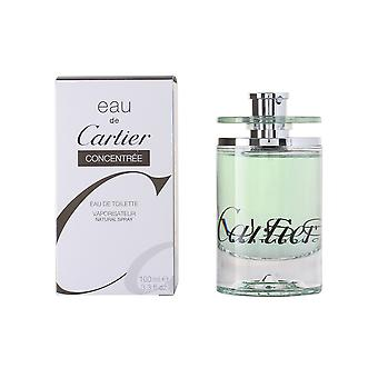 Cartier Eau De Cartier Eau De Toilette Concentr Vapo 100ml Womens New Perfume