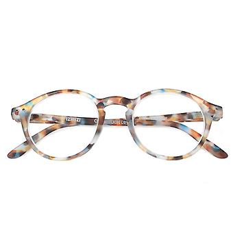Izipizi Letmesee #d Blue Tortoise Reading Glasses