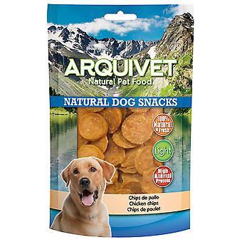 Arquivet Natural Snack for Dogs Chips of Chicken (Psy , Smakołyki , Eko produkty)