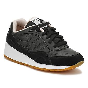 Saucony Mens Black / Tan Shadow 6000 HT Perf formatori