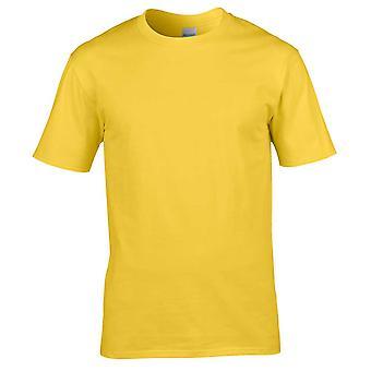 Gildan Mens Premium Ultra Cotton Crew nek vlakte T-Shirt